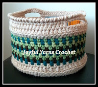 Crochet Magnificent Moss Basket