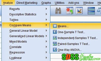 Step By Step to Test Linearity Using SPSS