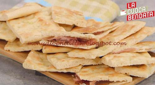 La Cuoca Bendata - Focaccia con farina di purè ricetta Parodi