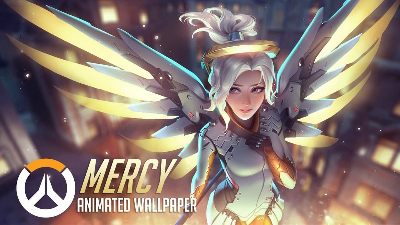 Mercy Overwatch Animated Wallpaper Engine Free
