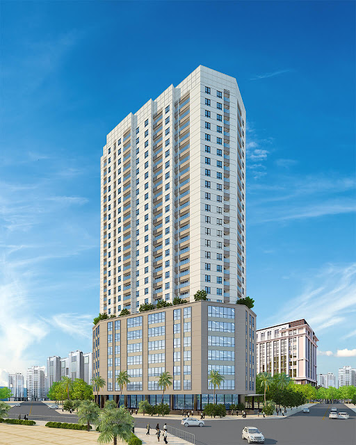 Phối cảnh dự án Luxury Park View Yên Hòa