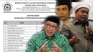 200 Nama Dai Rekomendasi Bikin Geger Publik, Menteri Agama Akhirnya Minta Maaf