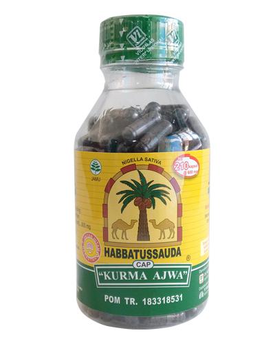 Habbatussauda Kurma Ajwa
