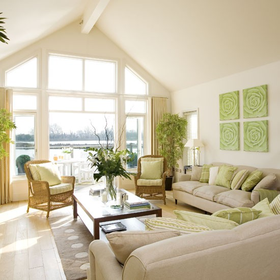 New Home Interior Design: Summer living rooms ideas