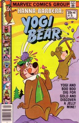 Yogi Bear #5, jelly mine