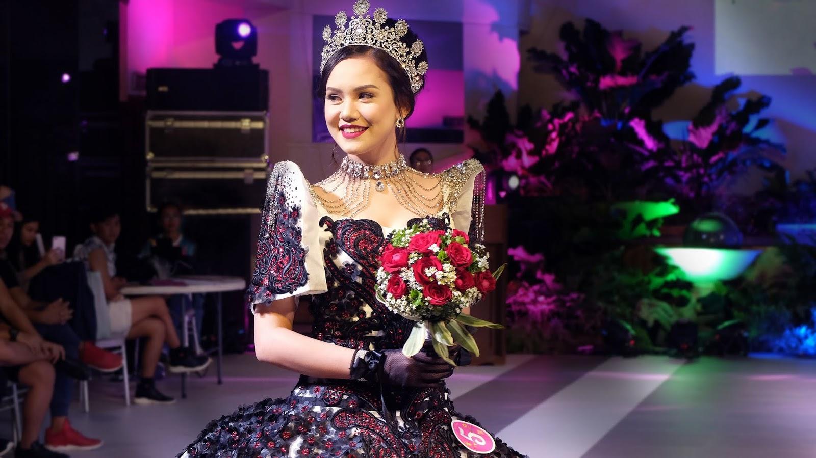 T'nalak Festival of Koronadal South Cotabato Angelica Baird Federico Navarro Bryan Cabaddu Festival de las Bellas y Flores Gown Competition National Costume