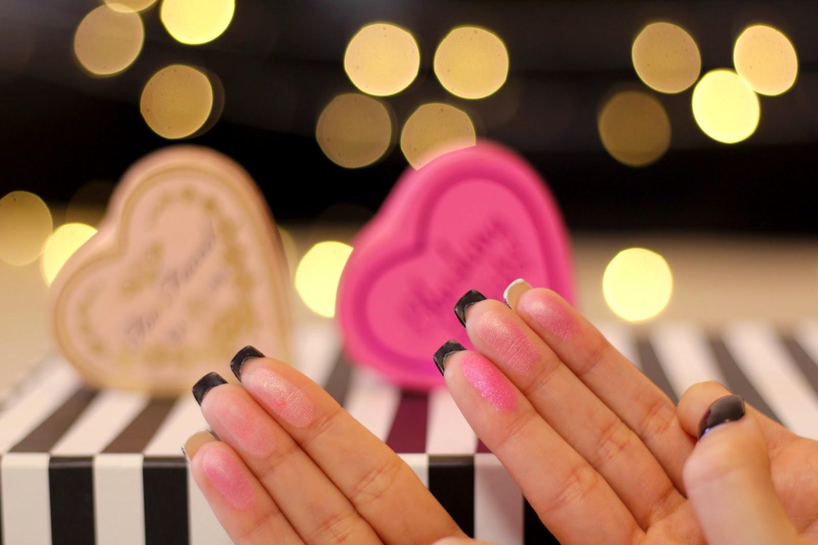Batalha de Blushs: I heart Makeup VS Too Faced