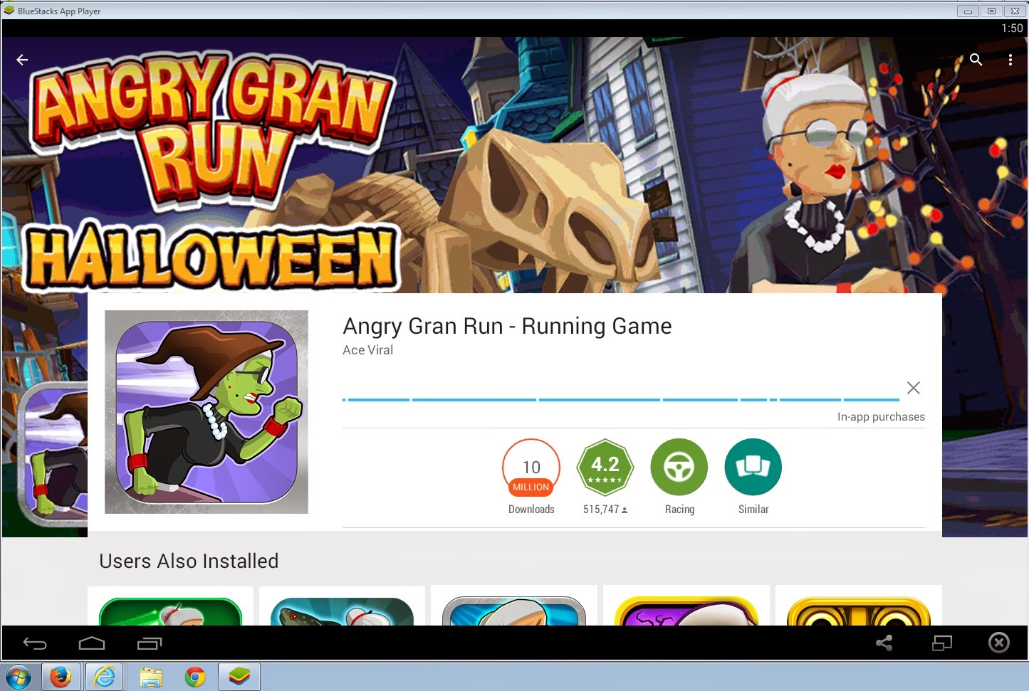 Download Angry Gran Run on PC