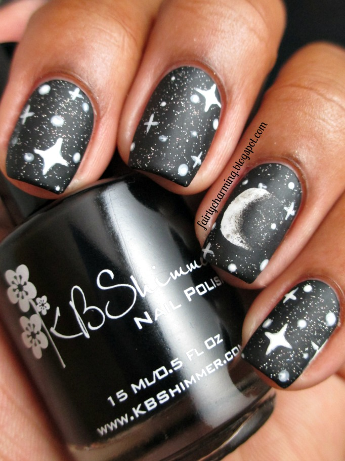 Moon nail designs moon nail designs awesome ideas for our nails gallery prinsesfo Image collections
