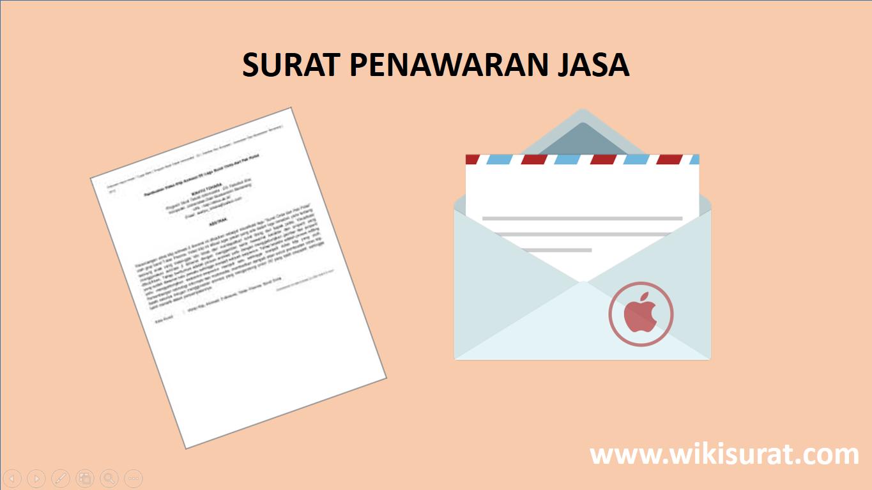 Contoh Surat Penawaran Jasa Konsultan Percetakan Catering