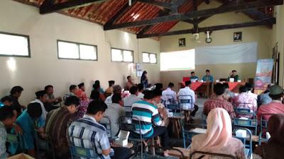 Pemdes Girigondo melaksanakan Musyawarah Desa Pelaporan Realisasi Penggunaan Dana Anggaran Pendapatan Belanja Desa (APBDES) Tahun 2018