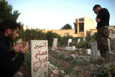 """fakta menyedihkan """"Kota di Suriah kehabisan ruang untuk makam"""""""