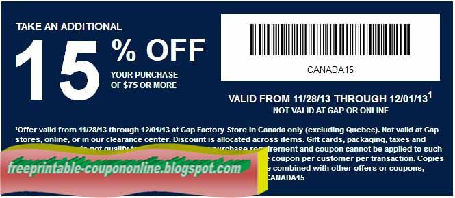 gap eu coupons