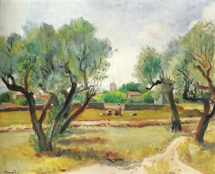 Pierre Deval 1897-1993 | French Figurative painter