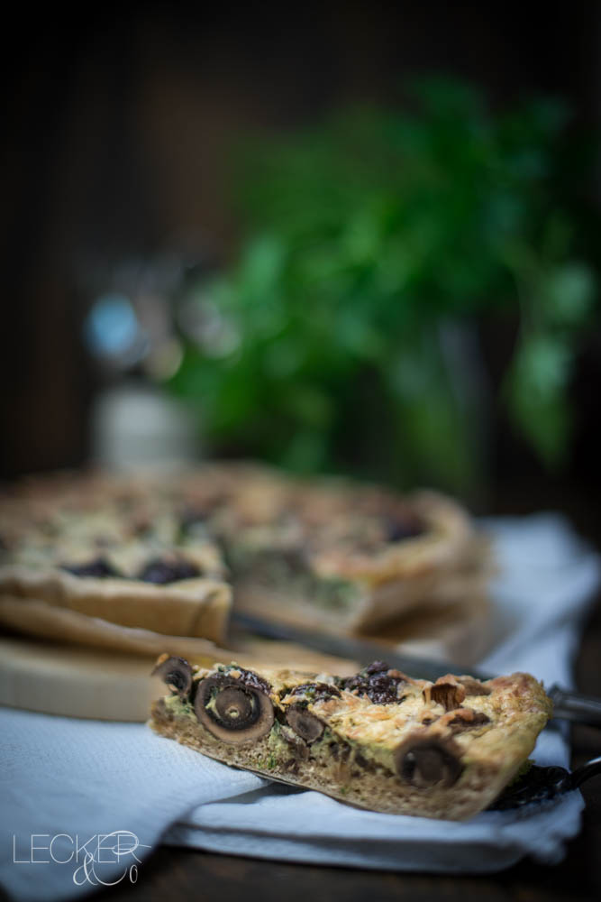 leckerundco, lecker co, lecker & co, lecker, leckerundco.de, foodblog, nürnberg, foodfotografie, mittelfranken, tina kollmann, foodpics, Foodbloggercamp, kochen, backen, Pilze, Champignons, Petersilie, Quiche, Tarte, vegetarisch, Gesunde Küche, Rezept, Egerlinge