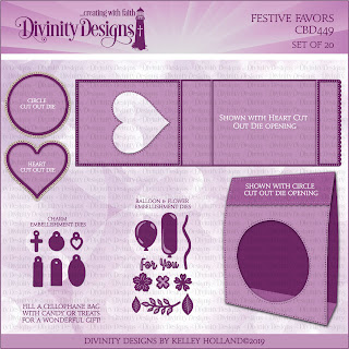 Divinity Designs Custom Die: Festive Favors