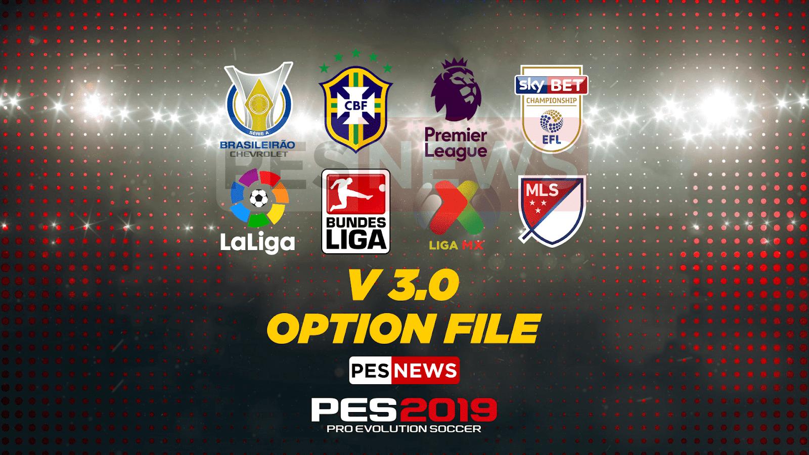 PES 2019 PS4 Option File Liga Tica Season 2018/2019 ~ SoccerFandom