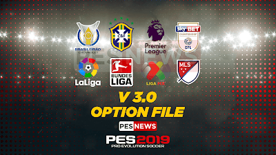 PES 2019 PS4 Option File Liga Tica Seaso