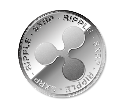 リップル(Ripple)のフリー素材(銀貨ver)