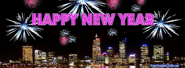 Happy New Year Facebook Cover Page  Pictures