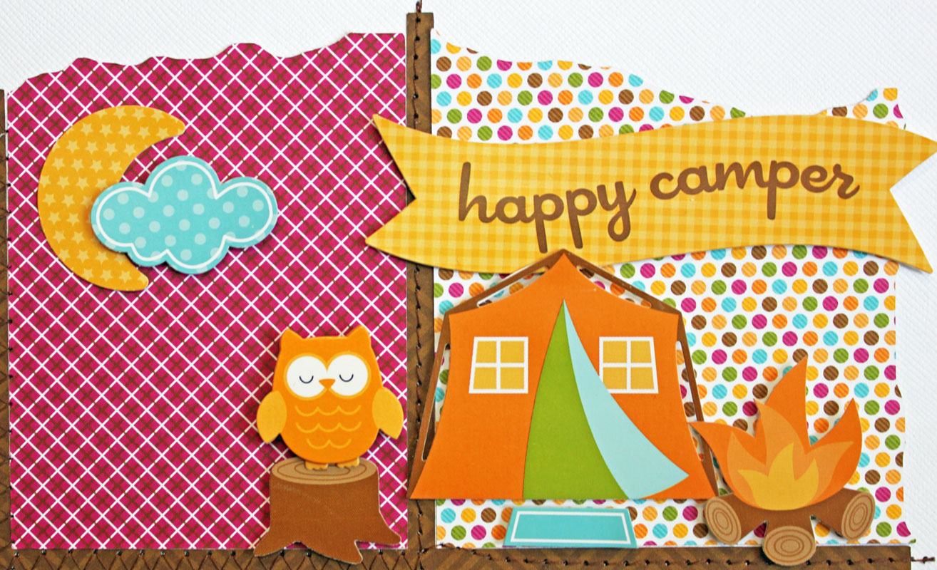 My Happy Place Doodlebug Designs Another Happy Camper Layout A