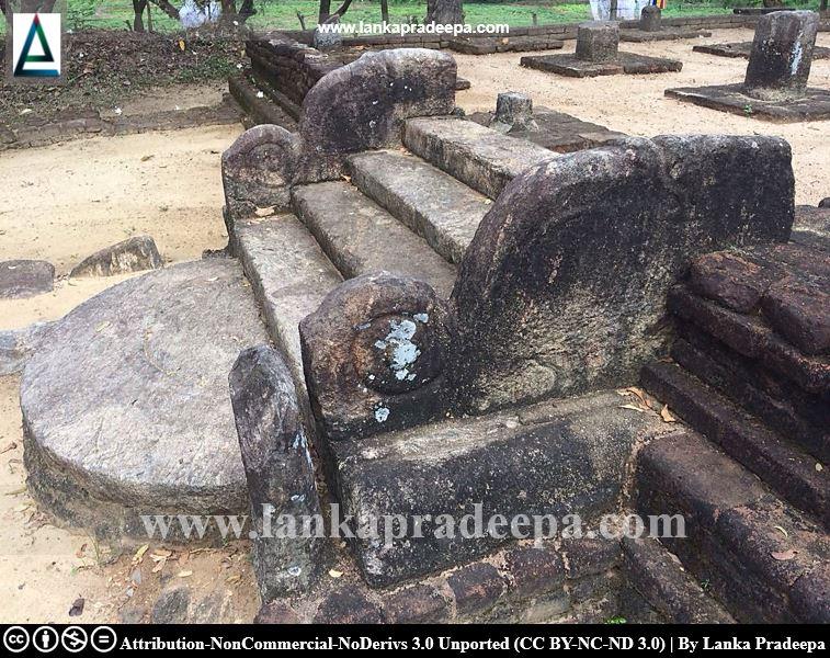 Ancient Sandakada Pahana and Korawak Gala, Dambulla Somawathi