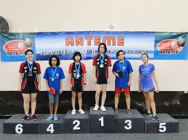 I Etapa do Campeonato Socioeducacional e Copa Cidade de Registro-SP de Tenis de Mesa
