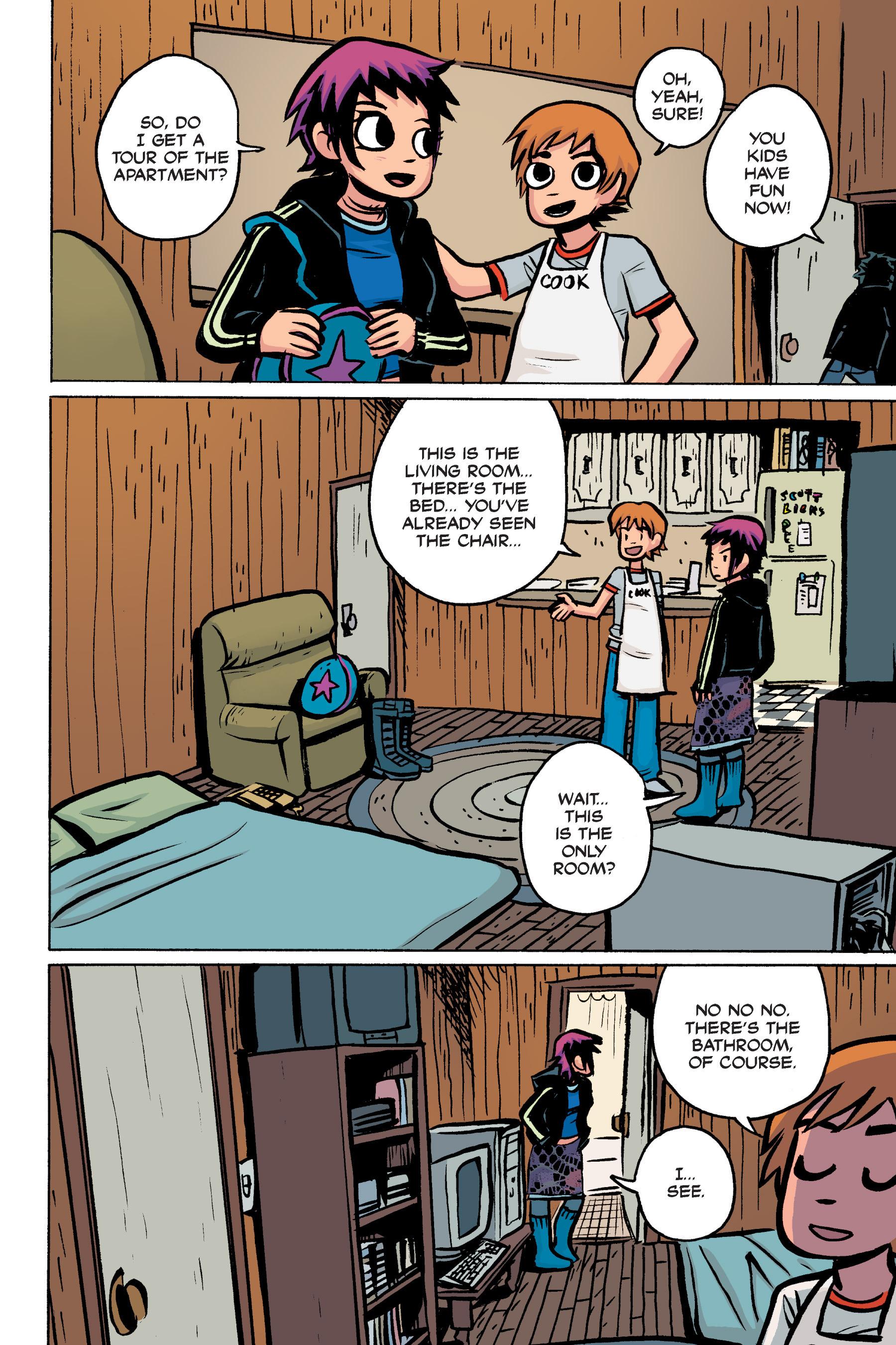 Read online Scott Pilgrim comic -  Issue #2 - 54