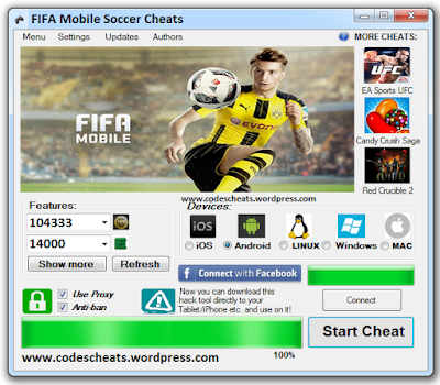 Cara Cheat Koin Fifa Mobile APK