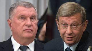 как Сечин и Евтушенков подписали мирный договор
