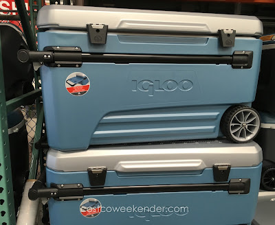 Igloo Maxcold Glide 110qt Rolling Cooler - Get ready for your next picnic, bbq or day at the beach