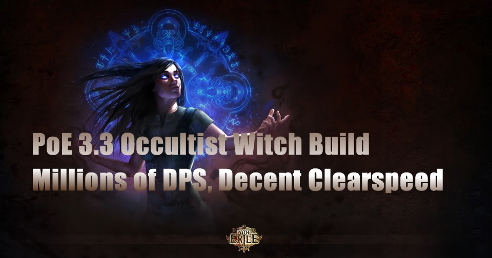 PoE 3 3 Occultist Witch Build | Millions of DPS, Decent