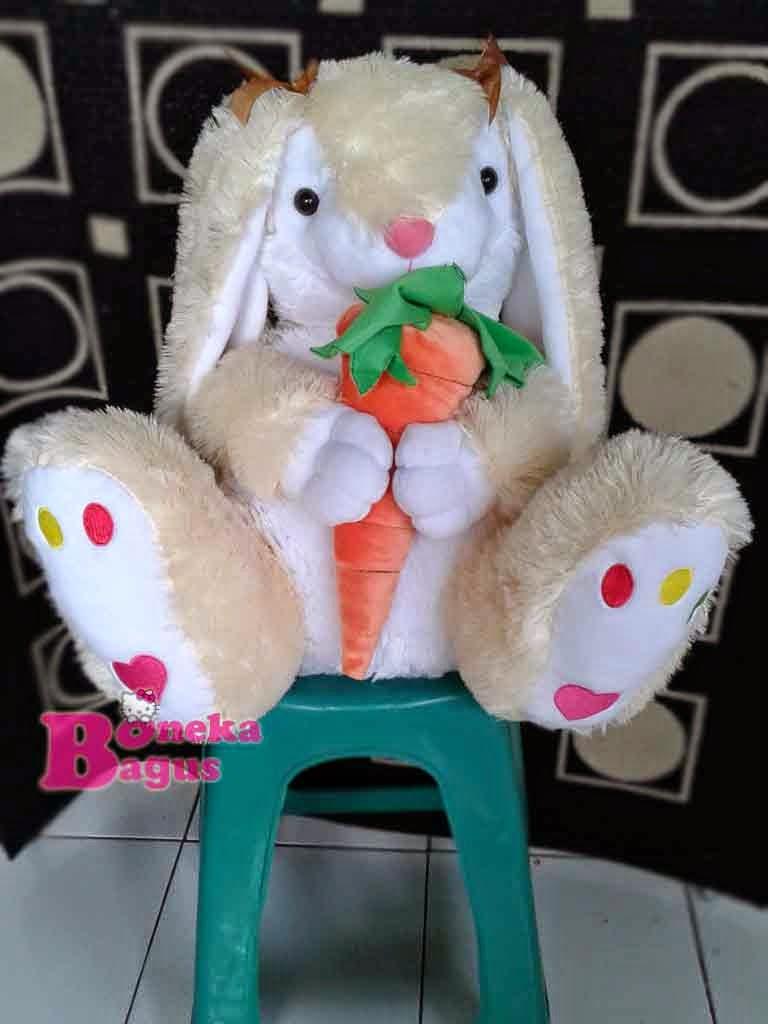 Toko Boneka Online Boneka Lucu Boneka Bagus Boneka Rabbit Wortel cfee24982b