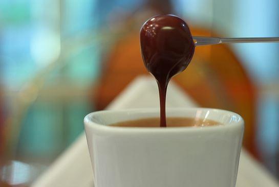 Fondue de chocolate - receita