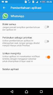 Pengaturan Aplikasi