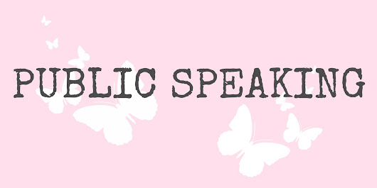 Public Speaking - who just loves it?
