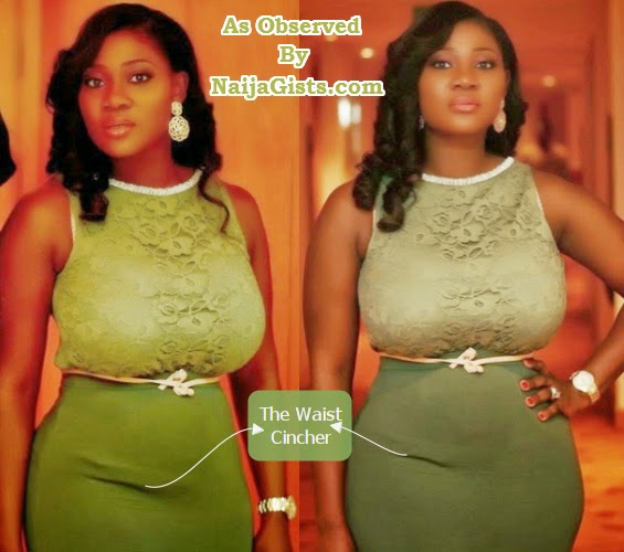 mercy johnson waist cincher