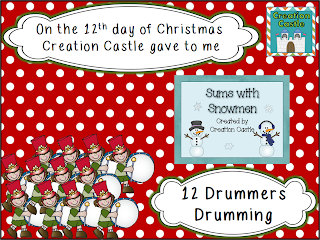 http://creationcastle.blogspot.com/2013/12/on-13th-day-of-christmas-creation.html