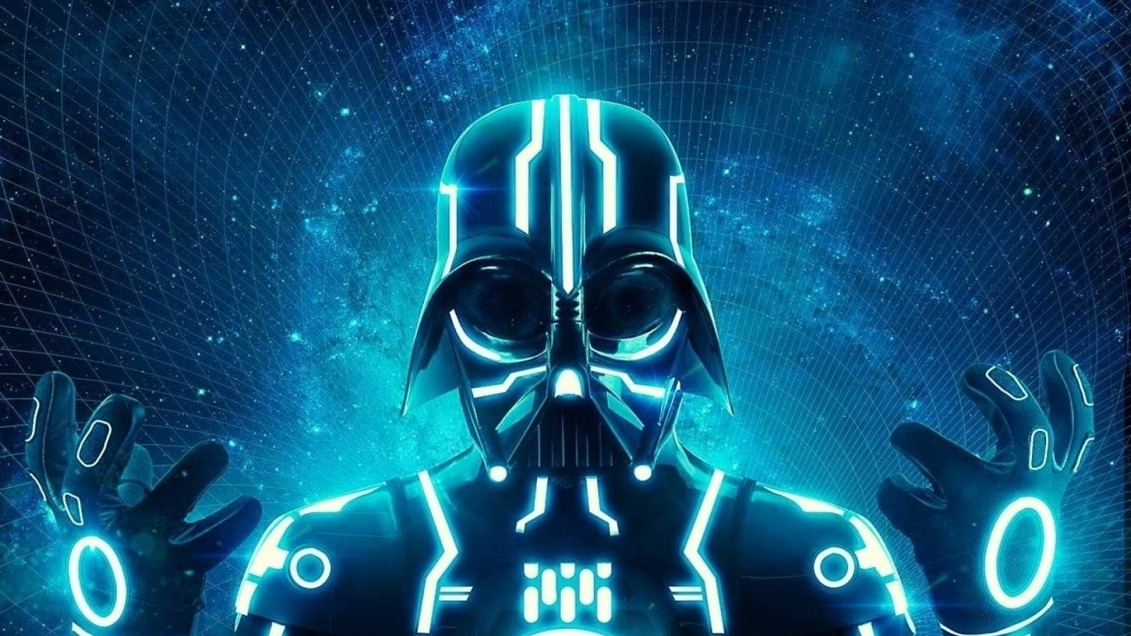 Neon Wallpapers for Android - Neon Tron Vader