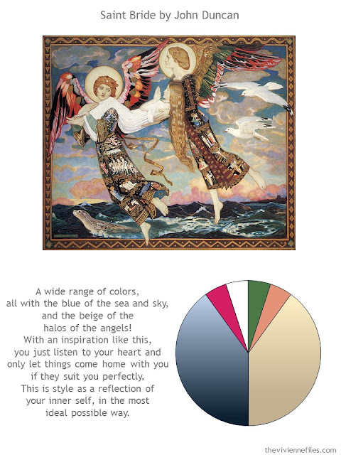 Saint Bride by John Duncan with style guidelines and color palette
