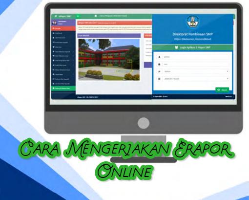 gambar panduan erapor online