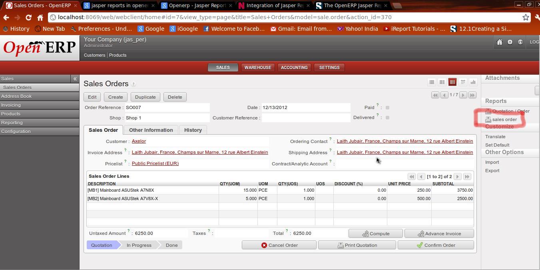 openerp how to create report full tutorial kiattipong
