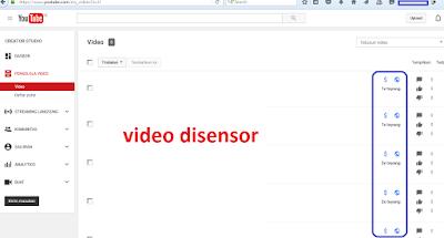 mengaitkan channel youtube anda pada akun GOOGLE ADSENSE