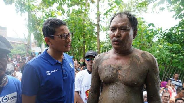 BPN Tepis Tudingan Kunjungan Sandiaga ke Korban Banjir Sandiwara