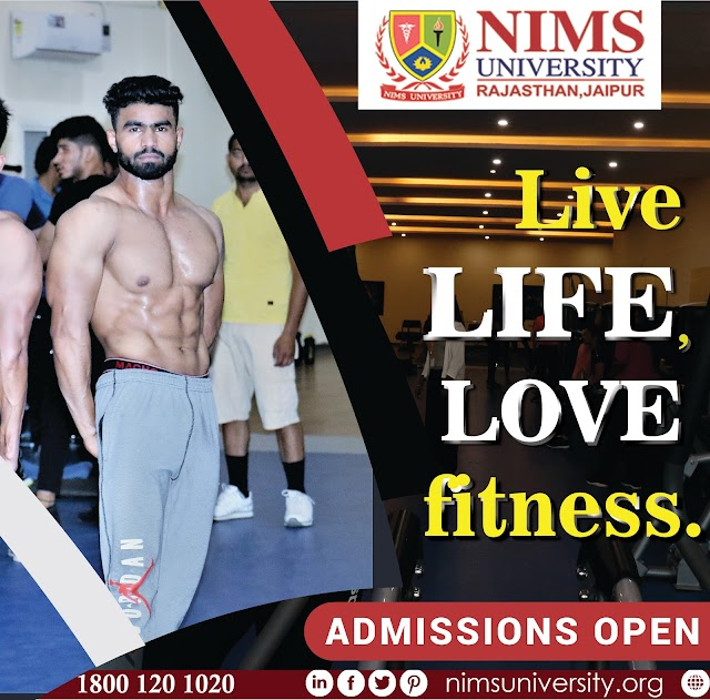 Fitness Center, Gym, and Health Club in Nims University