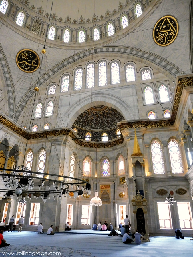 popular mosques in istanbul