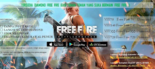 Cara inject diamond FREEFIRE bhinneka pulsa