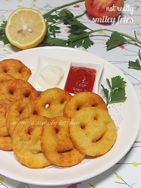 resep smiley fries