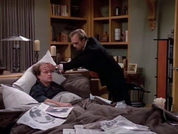 Frasier - Season 1 Episode 23: Frasier Crane's Day Off