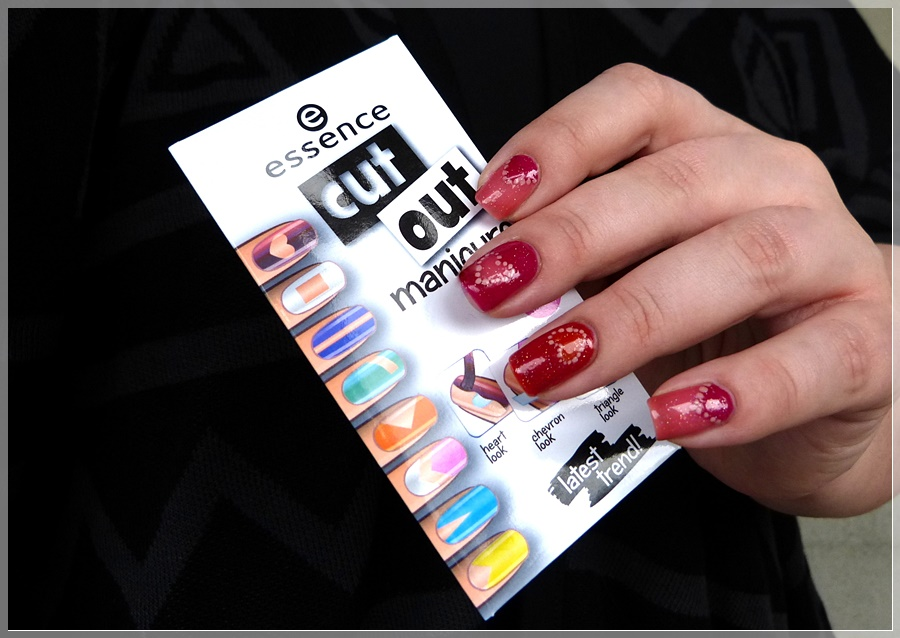essence nail art cut out stencils